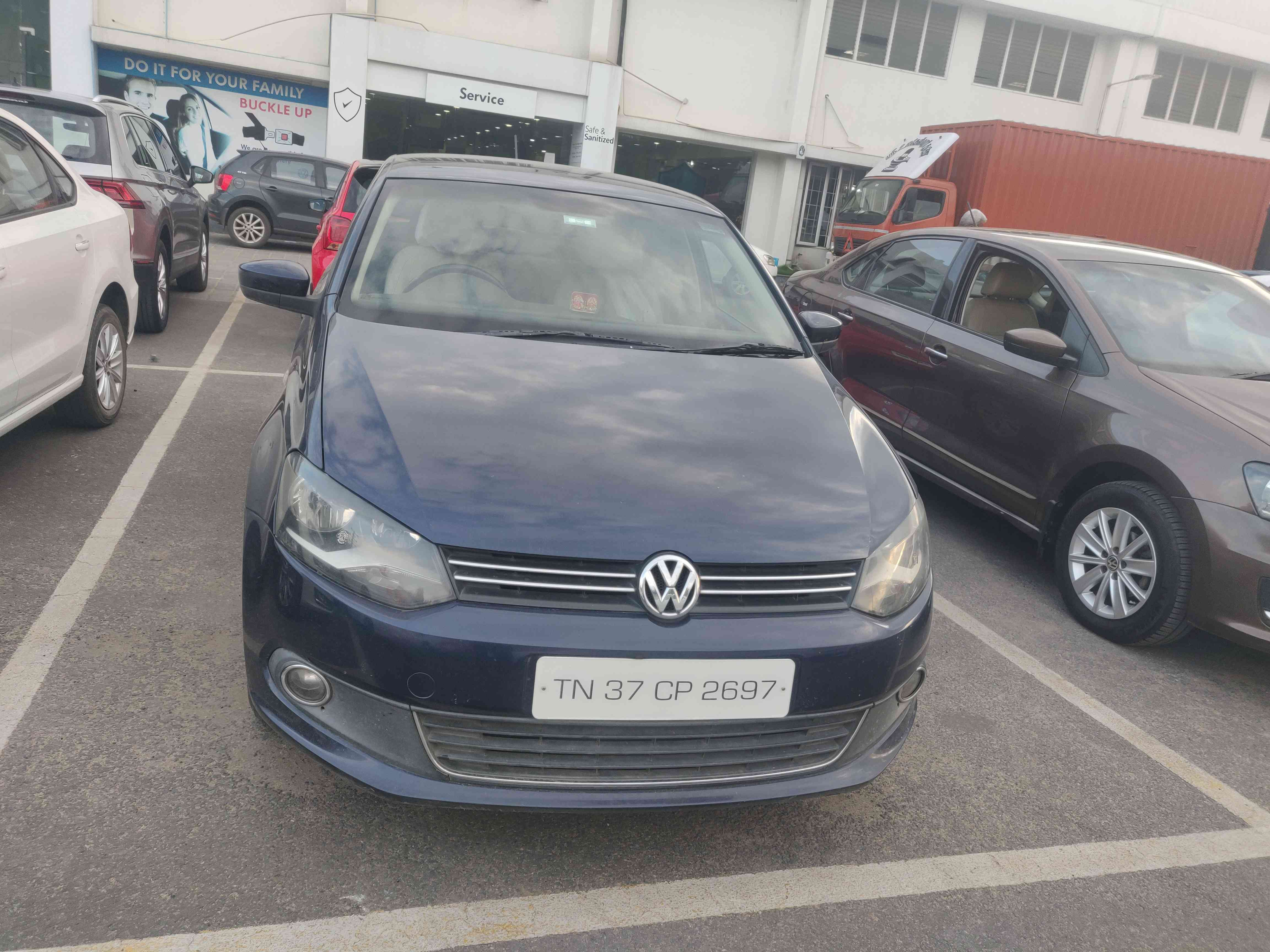 Volkswagen Vento 2014 2015 Highline Diesel At Mahindra First Choice