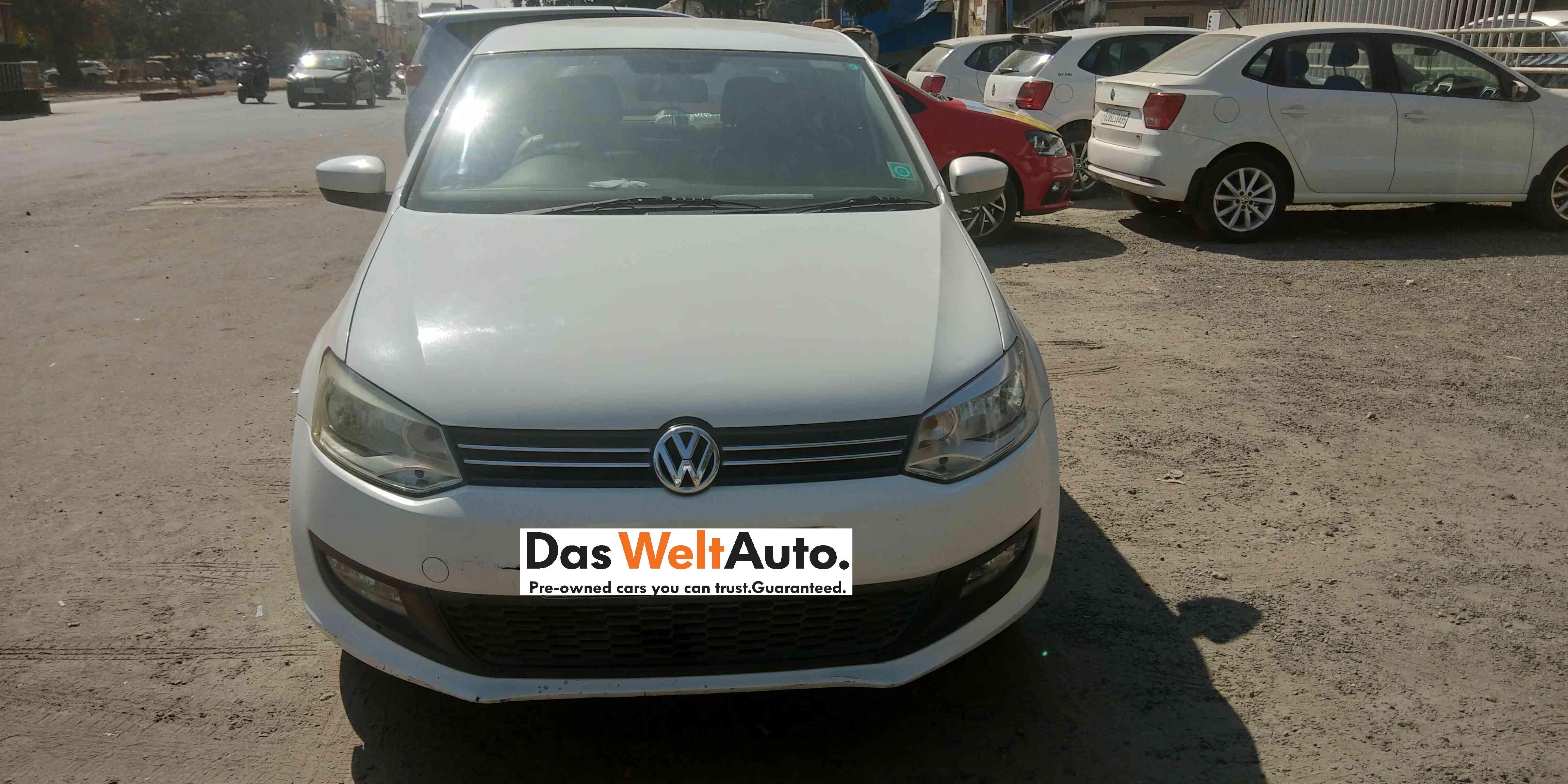 2012 Used Volkswagen Polo(2012-2014) COMFORTLINE 1.2L D